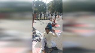 Protest infront of supreme court of Pakistan by Patafi Tribe (Sindhi Tribe)