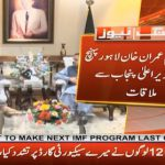 Buzdar briefs PM Imran about Punjab's progress on 100 Days Agenda
