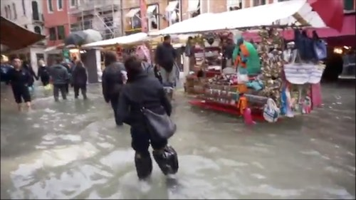 Worst flood in 22 years in Venice