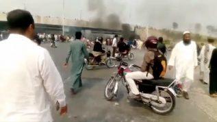 Tehreek-e-labbaik pakistan workers started protest in Pakistan