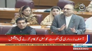 Asif Zardari: Government & opposition should work together