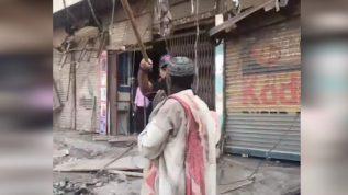 Anti-Encroachment operation in Karachi