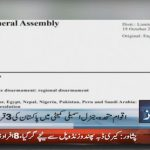Three resolutions of Pakistan have been accepted in UN