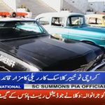 Khyber classic car rally starts from Quaid mausoleum