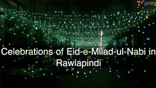 Celebrations of Eid-e-Milad-ul-Nabi in Rawlapindi