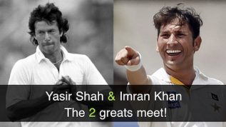 Yasir Shah and Imran Khan: what record do they share?
