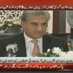 Shah Mehmood Qureshi talks about Pakistan's fight against terrorism