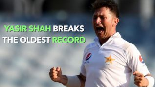 Yasir Shah breaks 82 year old record
