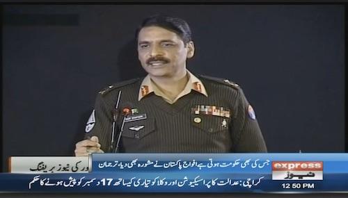 Media should show progress of Pakistan for 6 months: DG ISPR
