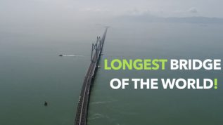 China inaugurated the longest bridge in the world