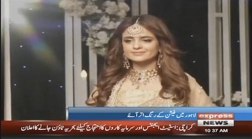 Bridal fashion week kicks off in Lahore