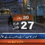 Law & order situation of Karachi is deteriorating