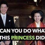 Japanese princess marries a commoner: gives up royal life