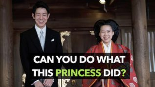 Japanese princess marries a commoner: gives up royal life