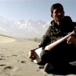 Gorgeous rabab played at the cold desert of GB