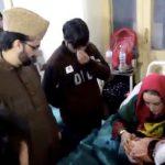 Youngest Kashmiri victim of pellet went through second surgery