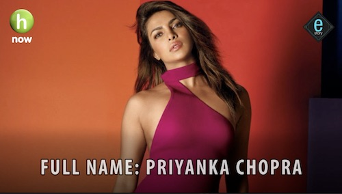E-Story in this episode brings you all the facts and interesting bits about Bollywood actress Priyanka Chopra