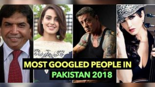 These were Pakistan's most Googled people in 2018