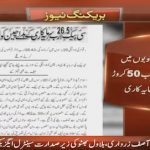 China has invested 26 Billion and 50 Crores in CPEC project