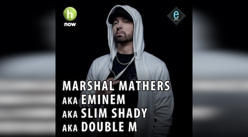 E-story: The Slim Shady aka Eminem