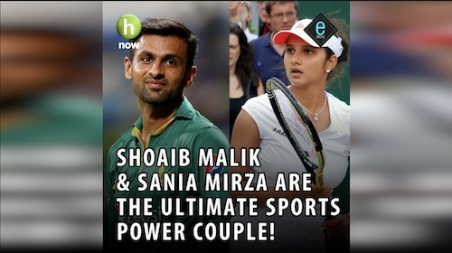 E-story: Shoaib Malik and Sania Mirza
