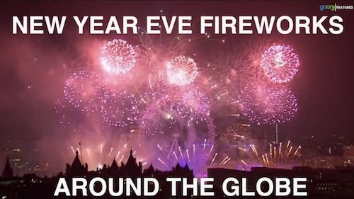 Stunning New Year Eve fireworks around the world