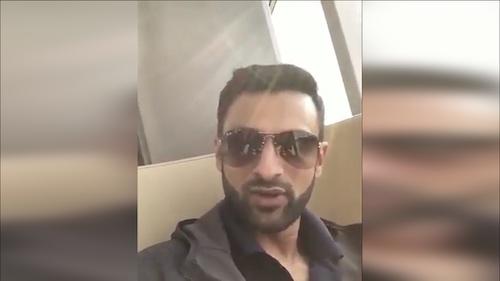 Shoaib Malik a message to his fans