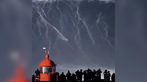 Largest wave has been surfed!