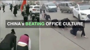 See how Chinese bosses punish employees