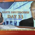 US government shutdown continues for 33rd day
