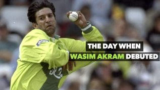 Wasim Akram: The legend who debuted on Jan 25, 1985