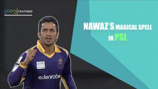 Nawaz's incredible spell in PSL