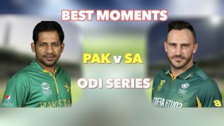 Highlights of Pakistan v South Africa ODI series