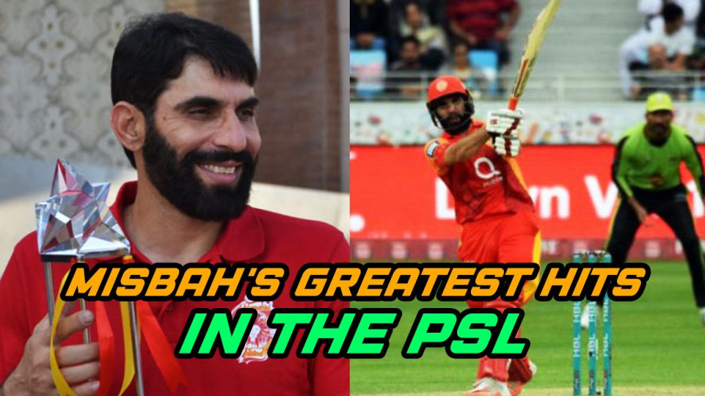 Misbah's Greatest hits in PSL