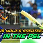 Shoaib Malik's Greatest Hits In The PSL