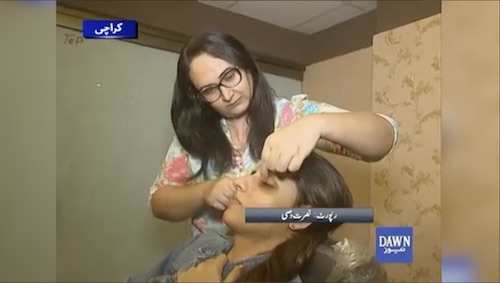 Pakistan's first transgender saloon owner