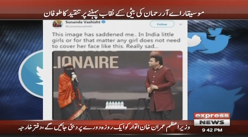 AR Rehman's daughter faces backlash over wearing a veil