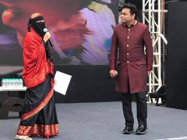 A R Rahman replies to criticism over daughter's veil