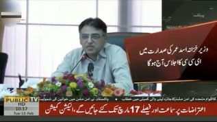 Asad Umer to chair ECC meeting today