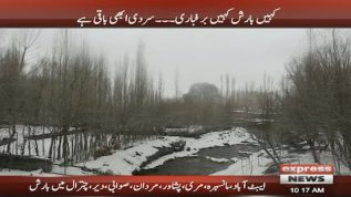 Rain and snow continue as winter remains