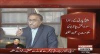 Maula Bakhsh Chandio is not pleased