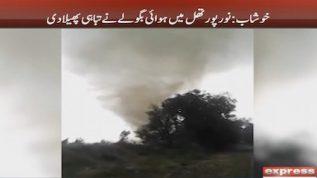 Wild tornado creates havoc on Khushab