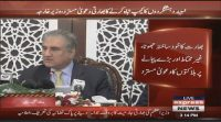 India is waging war with no backing – Shah Mehmood Qureshi