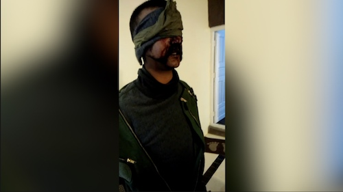 Exclusive Video of Arrested Indian Pilot
