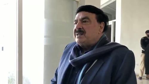 War is no option, says Sheikh Rasheed