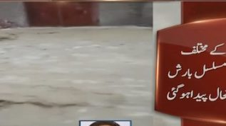 Flood warning in Balochistan