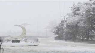 Snowfall in Quetta