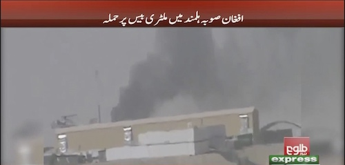 Taliban attack military base in Hilmand