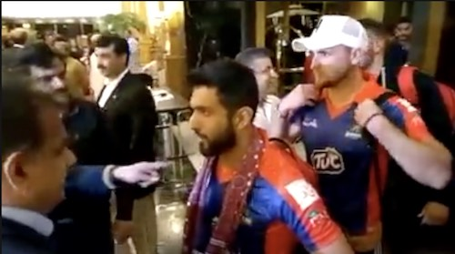 Karachi Kings arrive in Karachi!