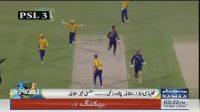 Quetta Gladiators and Peshawar Zalmi go head to head to an amazing match